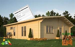 Chalet Bois Pas Cher : maison chalet bois pas cher le dessin contemp ~ Nature-et-papiers.com Idées de Décoration