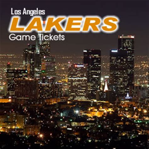 los angeles lakers game    sold  staples