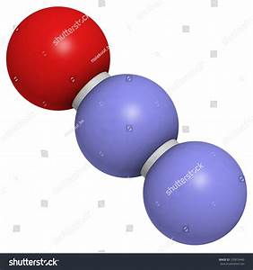 Nitrous Oxide  N2o  Laughing Gas  Sweet Air  Molecule