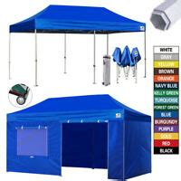 outdoor ez pop  canopy commercial tent instant gazebo  walls awning ebay