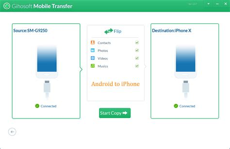 how to send from android to iphone how to transfer data from android to iphone 20068