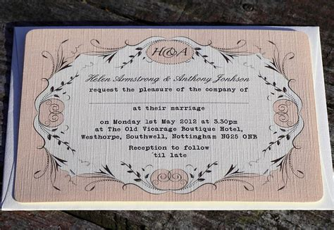 Perfume Wedding Invitation Rsvp Card And Envelope By
