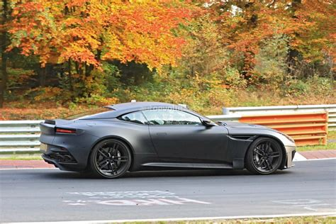 aston martin 2019 aston martin vanquish spied on nurburgring