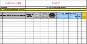 Free Home Inspection Checklist 9 Inspection And Test Plan Template Sampletemplatess