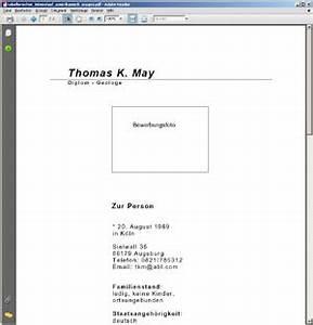 Cv In Tabular Form German Tabular Curriculum Vitae Lebenslauf Search