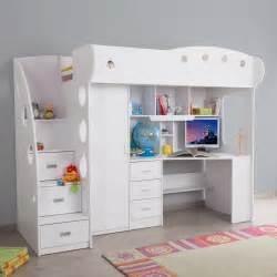 Lit Combine Bureau Design by Combine Lit Rangement Et Bureau