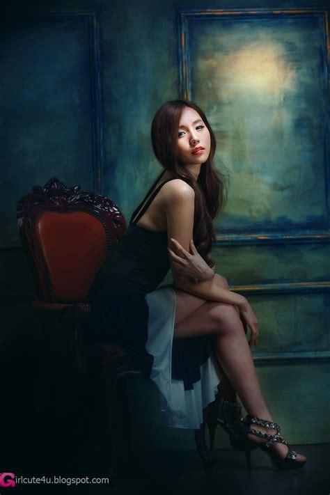 Xxx Nude Girls Lee Ji Min Black And White