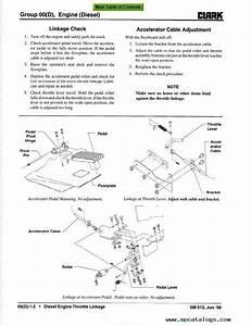 Clark Cgc  Cgp 40  70 Rv1 Sm612 Service Manual Pdf