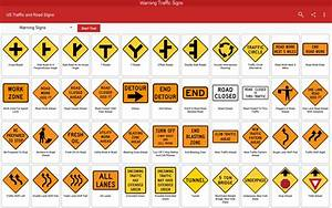 Us Traffic And Road Signs For Android