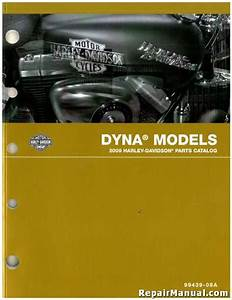 2009 Harley Davidson Fxd Dyna Motorcycle Parts Manual