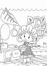 Coloring Cooking Pages Kitchen Utensils Getcolorings Printable Getdrawings sketch template