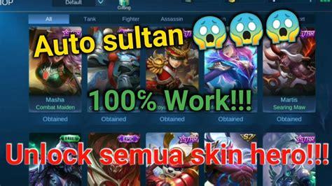 unlock  skin mobile legends  work  cheat