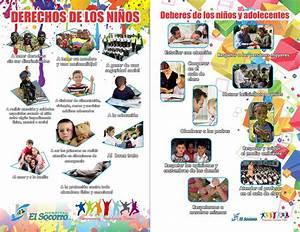 folleto derechos de los ninos Hospital El S by ItsMinosArt on DeviantArt