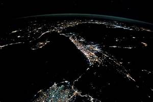 Night Lights of the Levant : Image of the Day