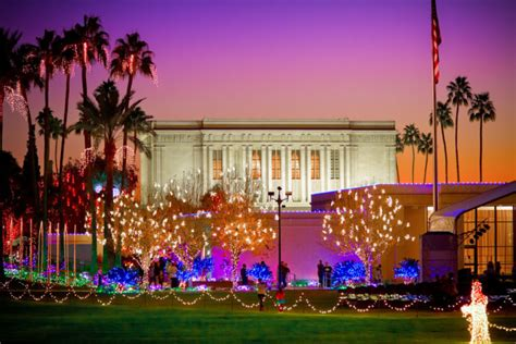 arizona christmas light displays