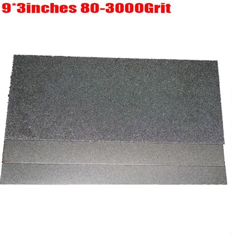 whetstone for kitchen knives 9x3 14inch quot knife whetstone plate 3000 grit 80