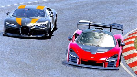 Il y a quelques jours. Bugatti Chiron Super Sport 300+ vs McLaren Senna - Nordschleife - YouTube