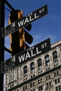 New York Wall Street Sign