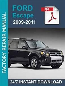 Ford Escape 2009 2010 2011  Hybrid Workshop Service Manual