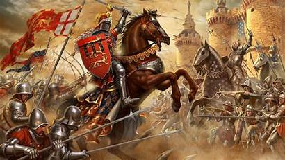 Battle Fantasy Knights Knight Wallpapers Horse Army