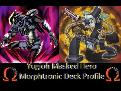 yugioh best masked morphtronic deck profile feb 2015