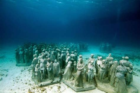 Cancun Underwater Museum  Mexico  Canuckabroad Places