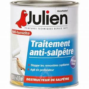 Traitement Anti Humidité : traitement anti salp tre julien bo te 750 ml de traitement anti salp tre ~ Dallasstarsshop.com Idées de Décoration