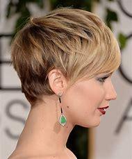 Jennifer Lawrence Short Pixie Cut