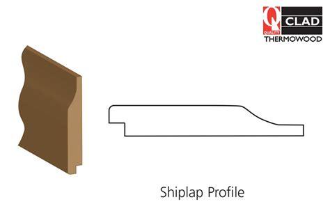 Shiplap Cladding B Q by Thermowood Shiplap Cladding