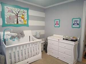 Unisex baby room themes with modern baby furniture for Modern unisex nursery ideas