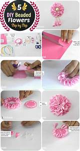 Tuto Pate Fimo Facile : diy 5 flower headband and beaded crown step by step ~ Mglfilm.com Idées de Décoration