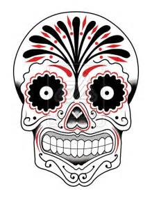 Mexican Skull Drawing