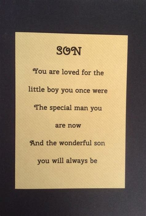 Card For Grown Up Son Special Sons Birthday By