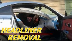 Remove Headliner  Chrysler Crossfire  Repair Headliner