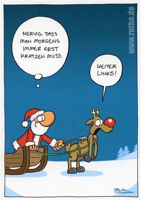 nikolaus lustige bilder weihnachtspostkarte mit lustigen