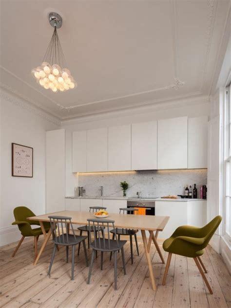 table de cuisine moderne la chaise de cuisine moderne en 62 photos inspirantes