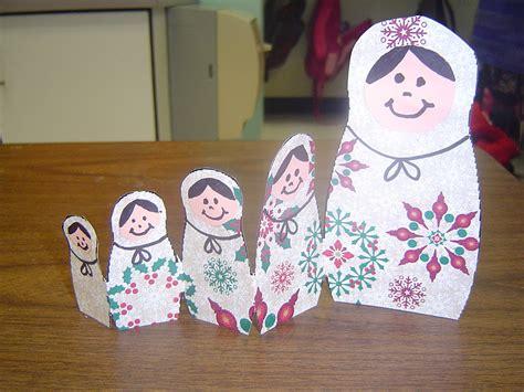 Russian Nesting Doll Craft Ideas