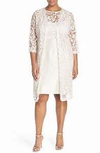 plus size women39s adrianna papell lace bodice sheath dress With long jacket dresses for weddings