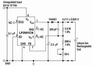 Lp2951 Typical Application Reference Design