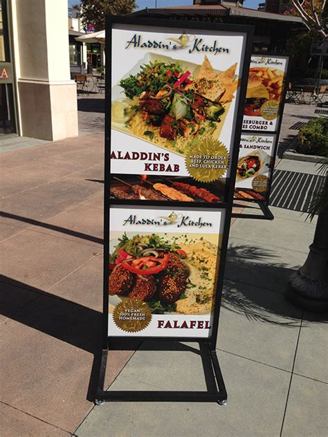 specialty signs sandwich boards wind flags  frame