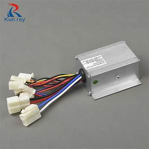Yinyun 24v 250w Motor Speed Brush Controller For Electric