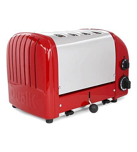 Dualit Vario 4 Slice Toaster - dualit vario four slice toaster selfridges