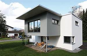 Fundament Für Einfamilienhaus : einfamilienhaus mit markantem vorbau bauen swisshaus ~ Articles-book.com Haus und Dekorationen