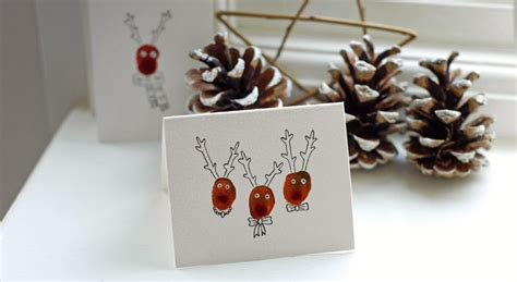 handmade reindeer christmas cards pictures