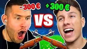300€ SNIPER 1v1 gegen STANDARTSKILL in FORTNITE! - YouTube
