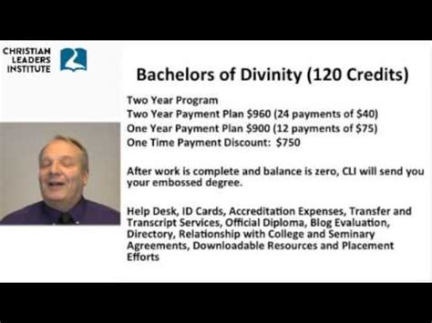 christian leaders institute degrees youtube
