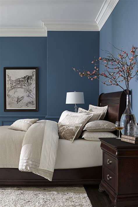 Blaue Wand Schlafzimmer by 15 Best Collection Of Bedroom Framed Wall