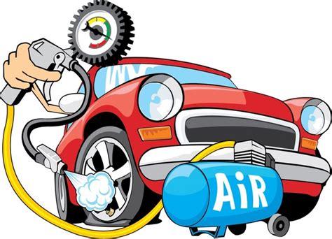 Vector Cartoon Car Refueling Free Vector In Encapsulated