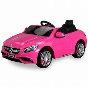 Voiture Bmw Enfant : mercedes benz s63 amg voiture lectrique pour enfant 12 volts rose ~ Medecine-chirurgie-esthetiques.com Avis de Voitures