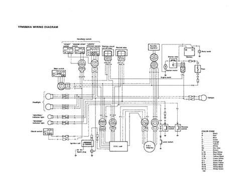 2001 Yamaha Wolverine Wiring Diagram 98 yamaha warrior 350 parts diagram downloaddescargar